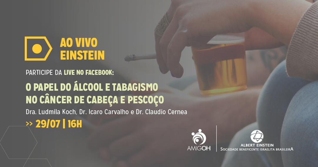 O papel do álcool e tabagismo no câncer de cabeça e pescoço